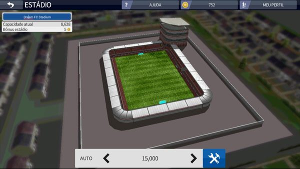Como montar seu estádio personalizado no Dream League Soccer 17