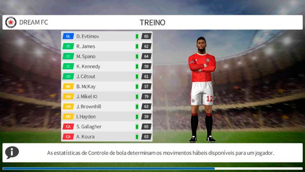 Como usar o modo treino no Dream League Soccer 2017