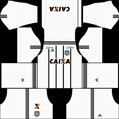 Kit figueirense dls17 uniforme casa 17-18