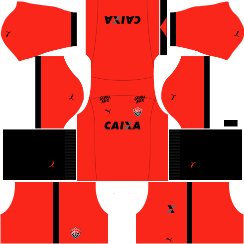 Kit vitoria dls17 uniforme alternativa