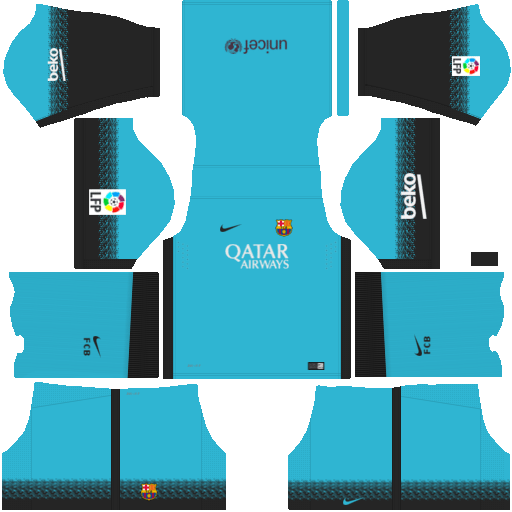size 40 83856 8b2fd Barcelona 2018 Kit for DLS-17 Dream League Soccer creat Your ...