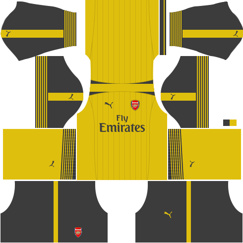 kit arsenal dls17 fora de casa