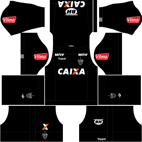 kit atletico mineiro dls17 alternativo 17-18