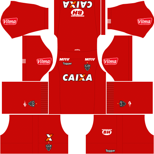 kit atletico mineiro dls17 goleiro alternativo 17-18
