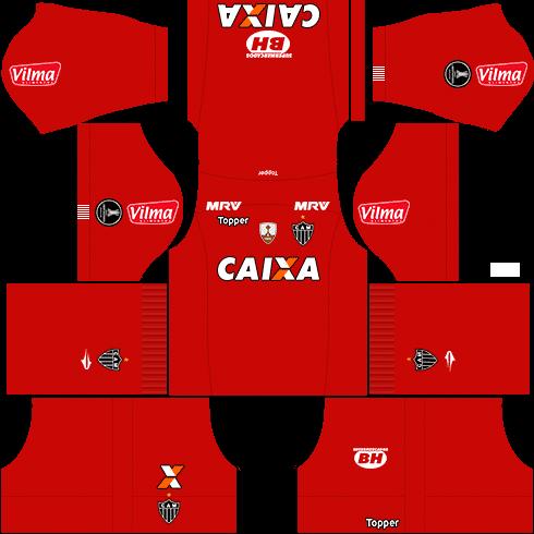 kit atletico mineiro dls17 libertadores goleiro alternativo