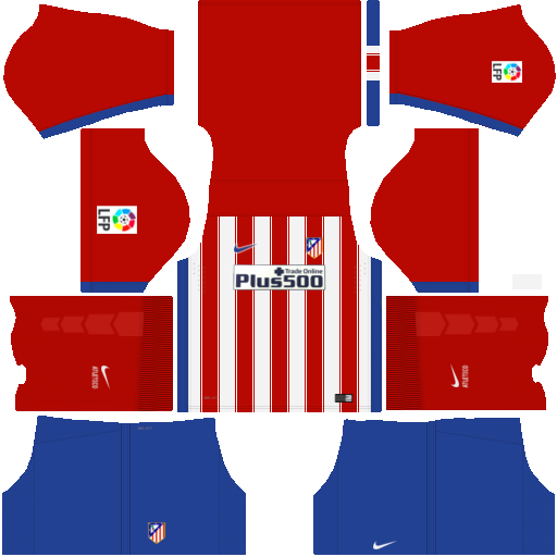 kit Atletico Madrid dls17 uniforme casa