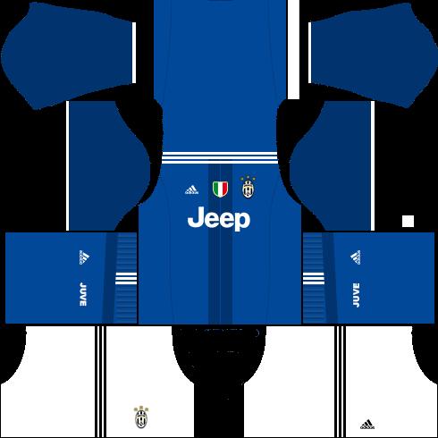 kit-juventus-dls16-uniforme-fora-de-casa-16-17