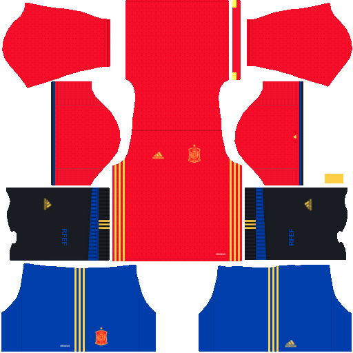 kit Spain - espanha dls17 casa