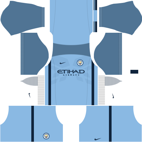 kit manchester city dls17 uniforme casa