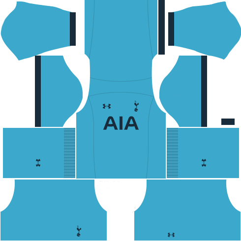 kit tottenham DLS 19 uniforme goleiro casa
