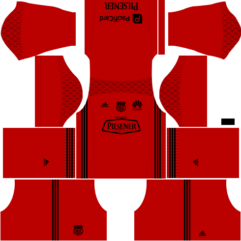 Kit emelec dls16 Goleiro casa 16.17