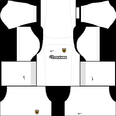 kit aek dls16 uniforme fora de casa15-16