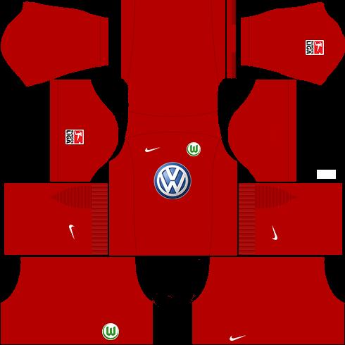kit wolfsburg dls16 goleiro casa