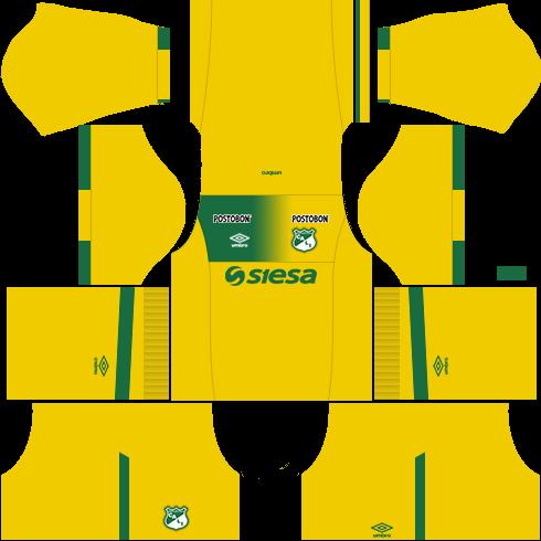 Kit deportivo cali dls16 goleiro casa