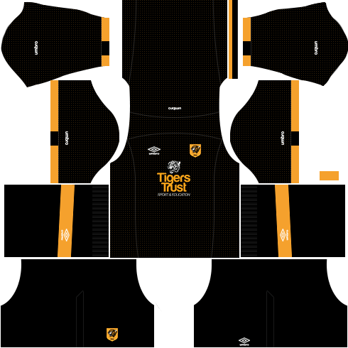 kit hull city dls16 fora de casa