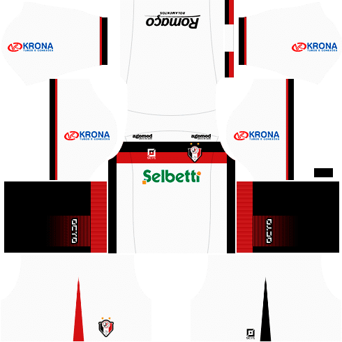 kit joinville dls17 uniforme fora de casa