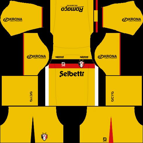 kit joinville dls17 uniforme goleiro casa