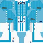 Kit Avaí 2019 Novo Uniforme para DLS 19 – Dream League Soccer
