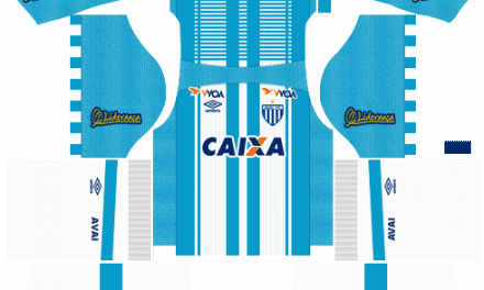Kit Avaí 2019 Novo Uniforme para DLS 19 – Dream League Soccer