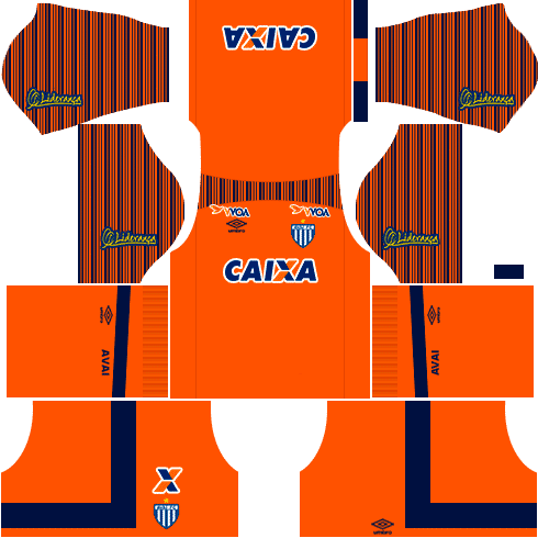 Kit avai dls17 goleiro alternativo