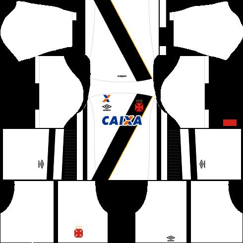 kit Vasco dls17 uniforme fora de casa 16-17