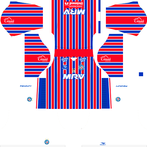 kit bahia dls17 uniforme alternativo casa