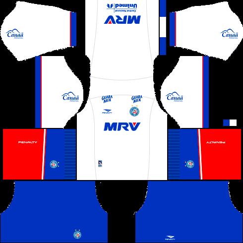 kit bahia dls17 uniforme alternativo fora de casa