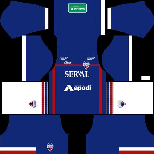 kit fortaleza dls17 uniforme alternativo 16-17