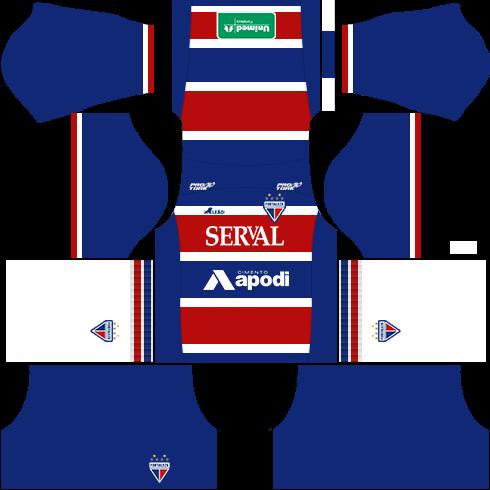 kit fortaleza dls17 uniforme casa 16-17