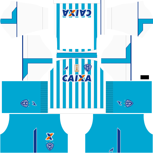 kit paysandu dls17 uniforme casa