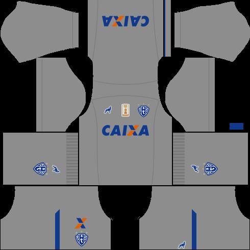 kit paysandu dls17 uniforme goleiro casa