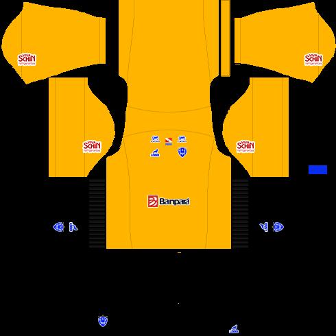 kit paysandu dls17 uniforme goleiro fora de casa 16-17