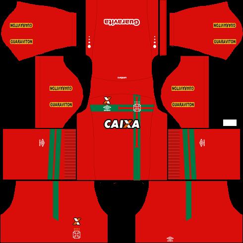 kit vasco dls16 goleiro alternativo