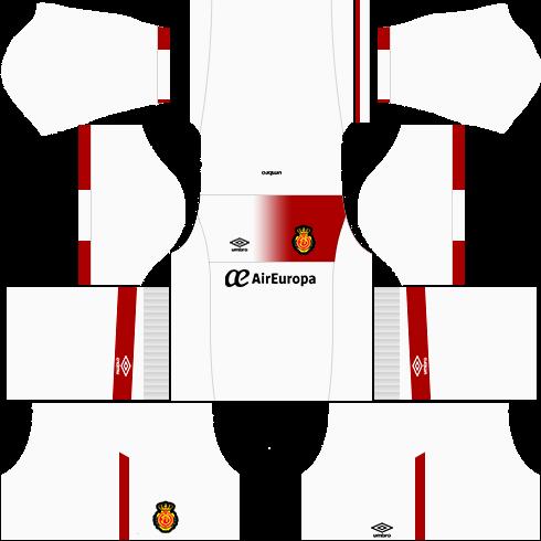 Kit Real Mallorca dls17 fora de casa