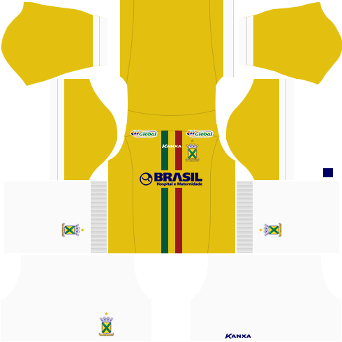 Kit santo andré dls17 uniforme alternativo