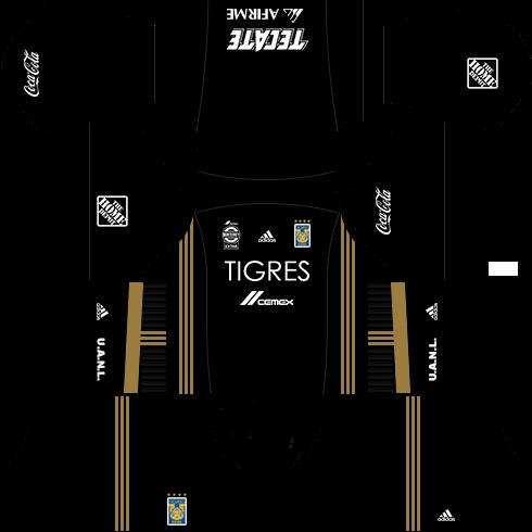 Kit tigres dls17 uniforme 4 opção