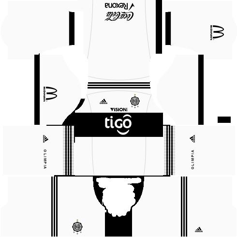 Kit uniforme olimpia dls17 casa 17-18