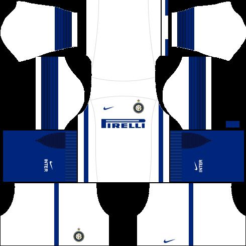 kit inter de milão - Internazionale Milano dls17 fora de casa