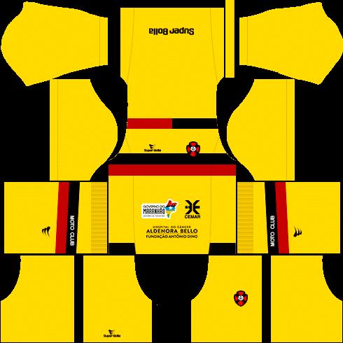 kit moto clube dls17 goleiro casa