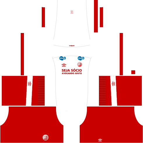 kit nautico dls17 uniforme fora de casa