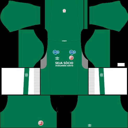 kit nautico dls17 uniforme goleiro casa