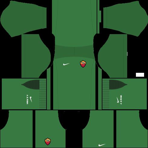 kit roma dls17 uniforme goleiro casa