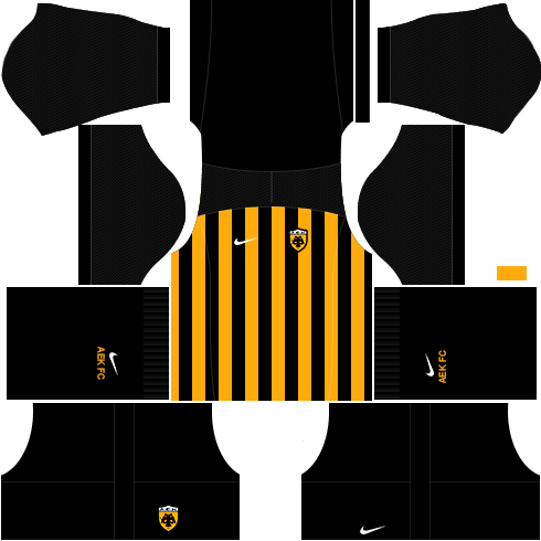 Kit AEK dls17 home - uniforme casa 17-18