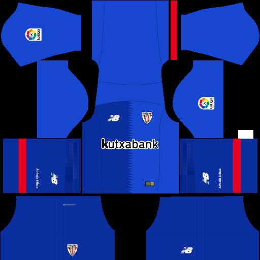 Kit-Athletic-Bilbao-dls-away---uniforme-fora-de-casa-18-19