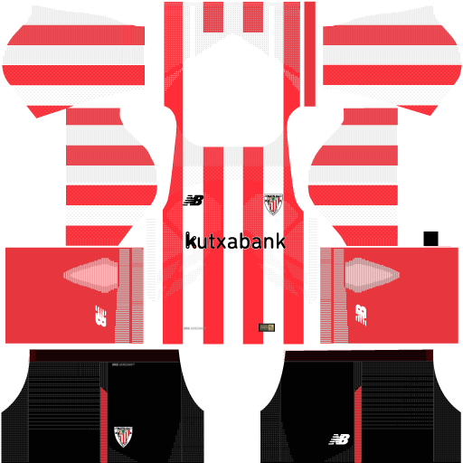 Kit-Athletic-Club-Bilbao---Atletico-de-Bilbão-dls17-home---uniforme-casa