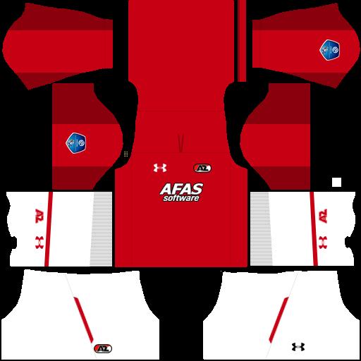 Kit Az Alkmaar dls home uniforme casa 18-19