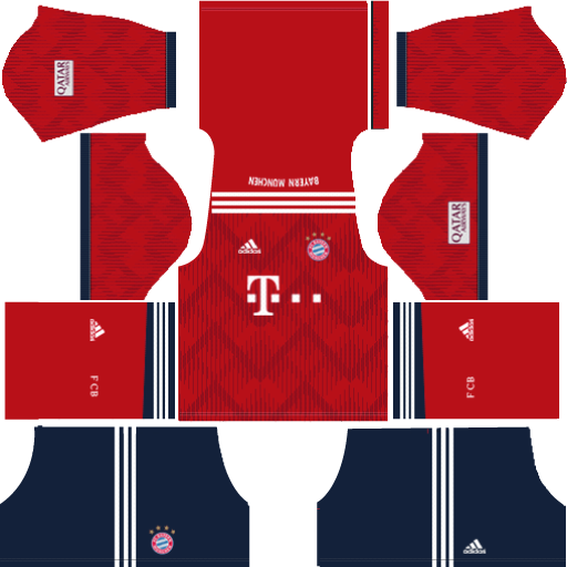 Kit-Bayern-Munich---Bayern-de-Munique-dls-home-uniforme-casa