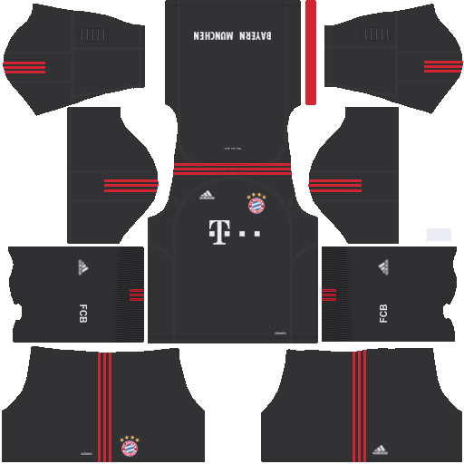 Kit Bayern Munich - Bayern de Munique dls17 home Gk - uniforme goleiro casa