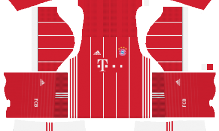 Kit Bayern Munchen 2018 novo uniforme para DLS 18 – Dream League Soccer