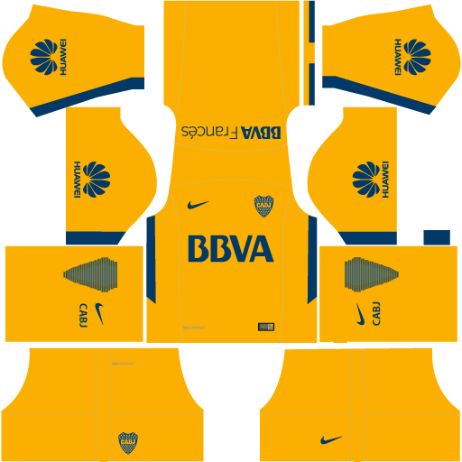 Kit-Boca-juniors-dls18-uniforme-away---fora-de-casa